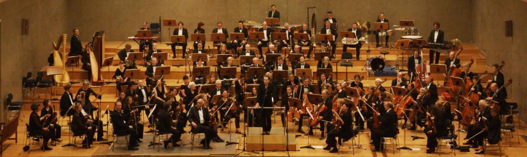 Das ASO Orchesterfoto 2013 mit Carolin Nordmeyer