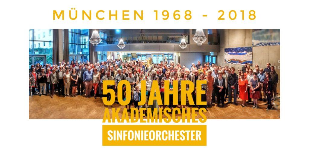 Orchesterbild 50 Jahre Akademisches Sinfonieorchester München